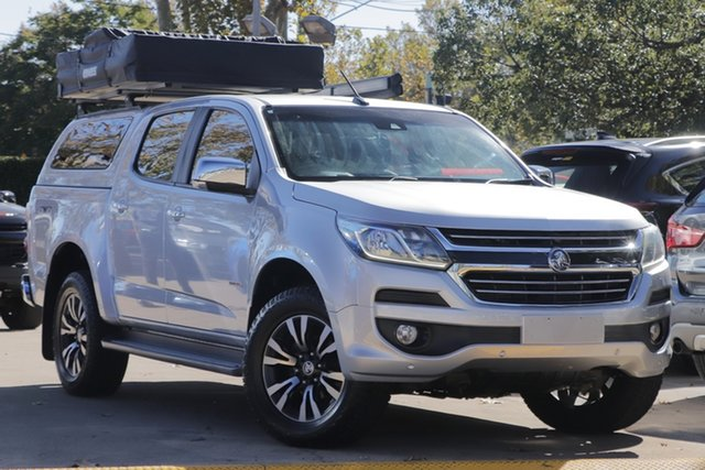 Used Holden Colorado RG MY17 LTZ Pickup Crew Cab Toowoomba, 2016 Holden Colorado RG MY17 LTZ Pickup Crew Cab Silver 6 Speed Sports Automatic Utility