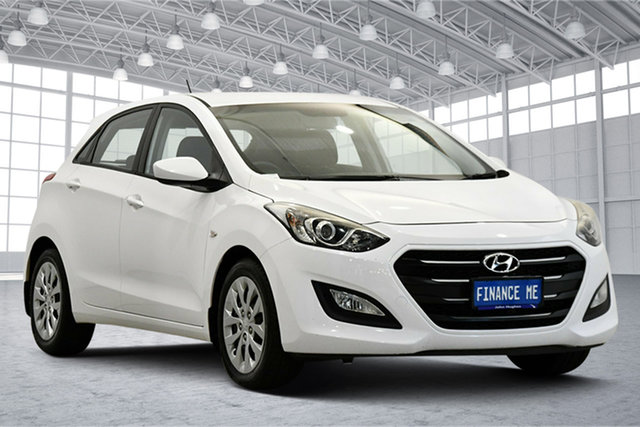 Used Hyundai i30 GD3 Series II MY16 Active DCT Victoria Park, 2015 Hyundai i30 GD3 Series II MY16 Active DCT White 7 Speed Sports Automatic Dual Clutch Hatchback