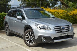 2016 Subaru Outback B6A MY16 2.5i CVT AWD Premium Silver, Chrome 6 Speed Constant Variable Wagon