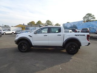 2018 Ford Ranger PX MkIII 2019.00MY Raptor White 10 Speed Automatic Utility