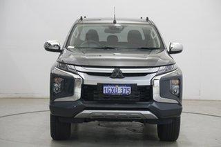2019 Mitsubishi Triton MR MY20 GLS Double Cab Graphite Grey 6 Speed Sports Automatic Utility.