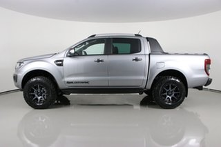 2021 Ford Ranger PX MkIII MY21.25 Wildtrak 3.2 (4x4) Silver 6 Speed Automatic Double Cab Pick Up