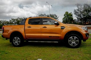 2020 Ford Ranger PX MkIII 2021.25MY Wildtrak Orange 6 Speed Sports Automatic Double Cab Pick Up