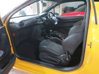 2011 Citroen DS3 DSport Yellow 6 Speed Manual Hatchback