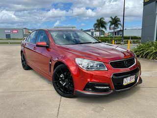 2015 Holden Commodore VF MY15 SS Red/170315 6 Speed Manual Sedan.