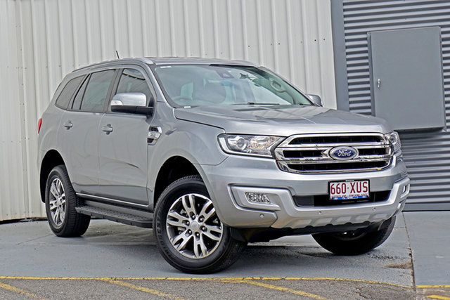 Used Ford Everest UA Trend Springwood, 2017 Ford Everest UA Trend Silver 6 Speed Sports Automatic SUV