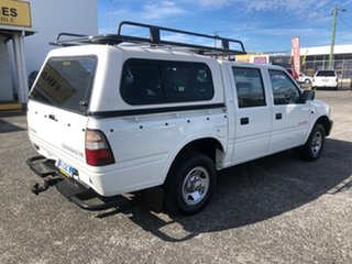 1999 Holden Rodeo TF R9 LX Crew Cab 4x2 White 4 Speed Automatic Utility.