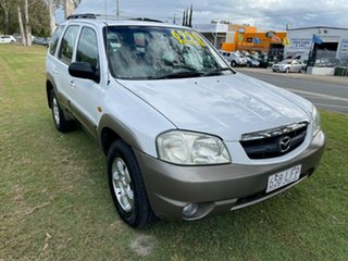 2002 Mazda Tribute Luxury White 4 Speed Automatic Wagon
