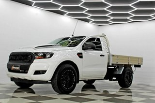 2018 Ford Ranger PX MkII MY18 XL 2.2 (4x2) (5 Yr) White 6 Speed Manual Cab Chassis
