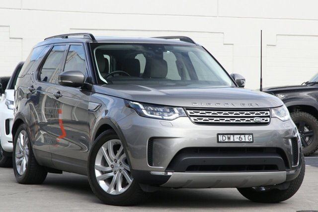 Pre-Owned Land Rover Discovery Series 5 L462 MY18 HSE Brookvale, 2018 Land Rover Discovery Series 5 L462 MY18 HSE Silver Gold 8 Speed Sports Automatic Wagon
