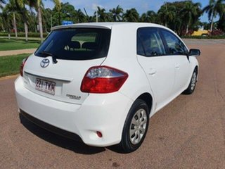 2010 Toyota Corolla ZRE152R MY10 Ascent White 4 Speed Automatic Hatchback.