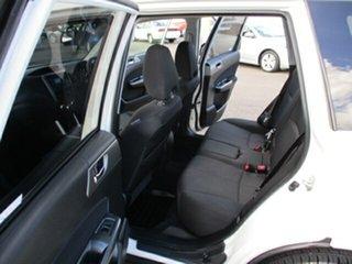 2011 Subaru Forester White 5 Speed Manual Wagon