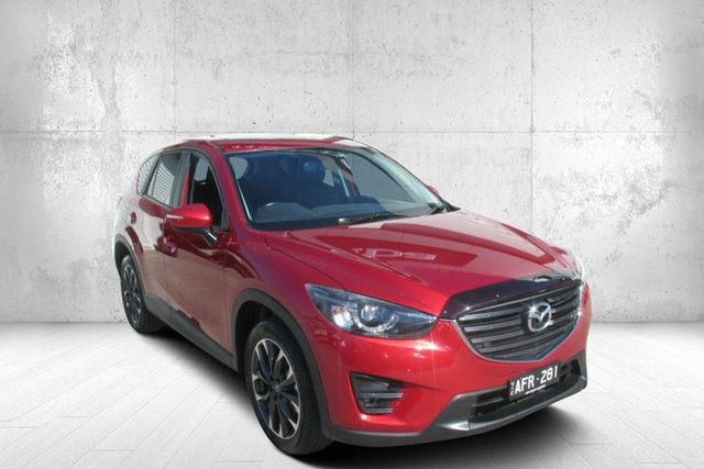 Used Mazda CX-5 KE1032 Grand Touring SKYACTIV-Drive AWD Bendigo, 2015 Mazda CX-5 KE1032 Grand Touring SKYACTIV-Drive AWD Red 6 Speed Sports Automatic Wagon