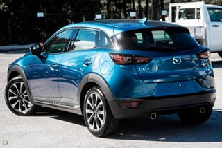 2021 Mazda CX-3 DK2W7A Akari SKYACTIV-Drive FWD Blue 6 Speed Sports Automatic Wagon