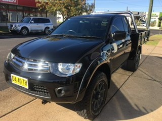 2015 Mitsubishi Triton MN GLX Black Manual.