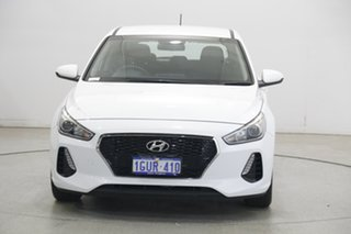 2019 Hyundai i30 PD MY19 Go White 6 Speed Sports Automatic Hatchback.