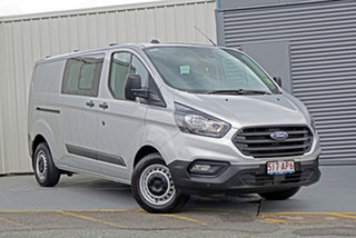 2020 Ford Transit Custom VN 2020.50MY 340L (Low Roof) Silver 6 Speed Automatic Double Cab Van.