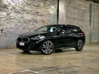 2018 BMW X2 F39 sDrive20i Coupe DCT Steptronic M Sport Black 7 Speed Sports Automatic Dual Clutch.