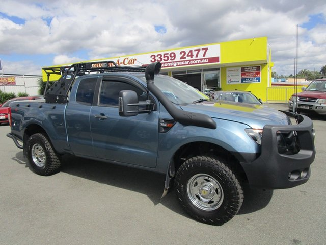 Used Ford Ranger PX XL Kedron, 2015 Ford Ranger PX XL Blue 6 Speed Manual Utility