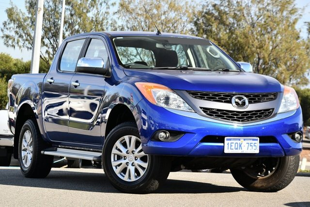 Used Mazda BT-50 UP0YF1 XTR Clarkson, 2014 Mazda BT-50 UP0YF1 XTR Blue 6 Speed Sports Automatic Utility