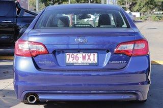 2016 Subaru Liberty B6 MY16 2.5i CVT AWD Blue 6 Speed Constant Variable Sedan