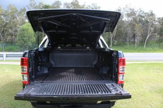 2013 Ford Ranger PX XLT Double Cab Black 6 Speed Manual Utility