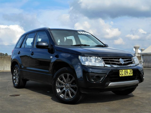 Used Suzuki Grand Vitara JB Navigator 2WD Brookvale, 2014 Suzuki Grand Vitara JB Navigator 2WD Black 4 Speed Automatic Wagon