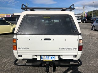 1999 Holden Rodeo TF R9 LX Crew Cab 4x2 White 4 Speed Automatic Utility