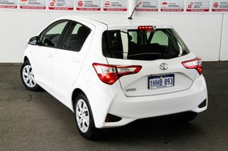 2017 Toyota Yaris NCP130R MY17 Ascent Glacier White 4 Speed Automatic Hatchback