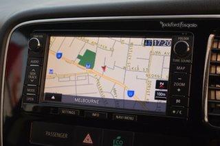 2013 Mitsubishi Outlander ZJ MY13 Aspire 4WD Grey 6 Speed Sports Automatic Wagon