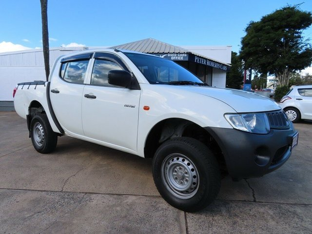 Used Mitsubishi Triton ML GLX Toowoomba, 2007 Mitsubishi Triton ML GLX White 4 Speed Automatic Double Cab Utility