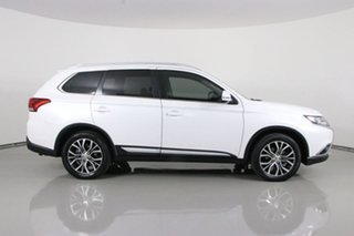 2016 Mitsubishi Outlander ZK MY17 LS Safety Pack (4x2) White Continuous Variable Wagon