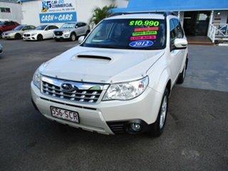 2011 Subaru Forester White 5 Speed Manual Wagon.