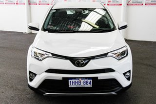 2018 Toyota RAV4 ZSA42R GX 2WD Glacier White 7 Speed Constant Variable Wagon.