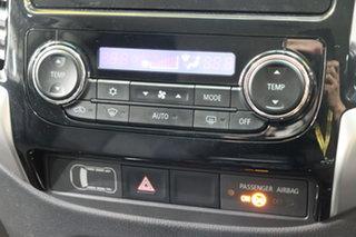 2015 Mitsubishi Triton MQ MY16 GLS Double Cab White 6 Speed Manual Utility