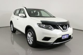 2016 Nissan X-Trail T32 ST 7 Seat (FWD) White Continuous Variable Wagon.