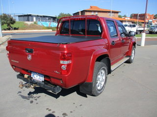 2011 Holden Colorado RC LX-R Red 5 Speed Manual Dual Cab