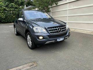 2010 Mercedes-Benz M-Class W164 MY10 ML300 CDI BlueEFFICIENCY Grey 7 Speed Sports Automatic Wagon.