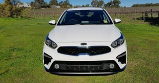 2021 Kia Cerato BD MY21 S Clear White 6 Speed Automatic Hatchback.