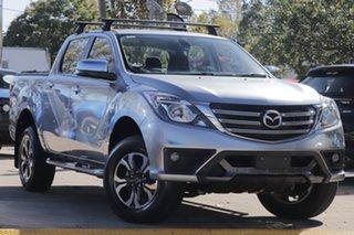 2019 Mazda BT-50 UR0YG1 XTR 4x2 Hi-Rider Silver 6 Speed Sports Automatic Utility.