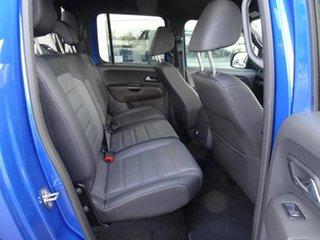 2019 Volkswagen Amarok 2H MY19 TDI580 4MOTION Perm Highline Black Ravenna Blue 8 Speed Automatic