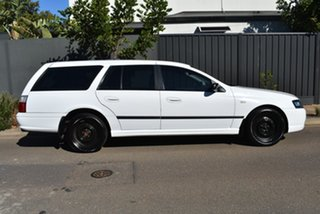 2008 Ford Falcon BF Mk III XT White 4 Speed Sports Automatic Wagon