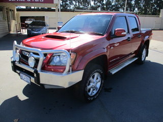 2011 Holden Colorado RC LX-R Red 5 Speed Manual Dual Cab.