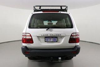 2004 Toyota Landcruiser HZJ105R GXL (4x4) White 5 Speed Manual 4x4 Wagon