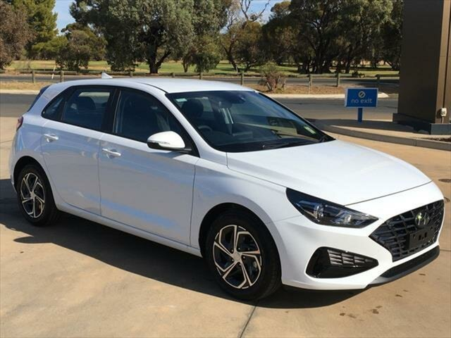 New Hyundai i30 PD.V4 MY21 Berri, 2021 Hyundai i30 PD.V4 MY21 Polar White 6 Speed Sports Automatic Hatchback