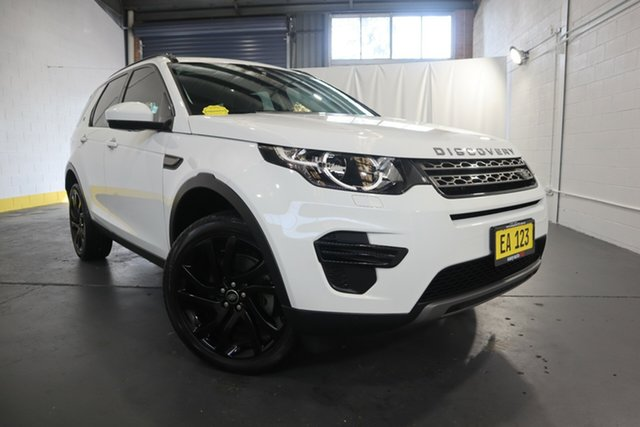 Used Land Rover Discovery Sport L550 17MY TD4 150 SE Castle Hill, 2017 Land Rover Discovery Sport L550 17MY TD4 150 SE White 9 Speed Sports Automatic Wagon