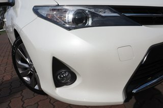 2013 Toyota Corolla ZRE182R Levin S-CVT SX White 7 Speed Constant Variable Hatchback.
