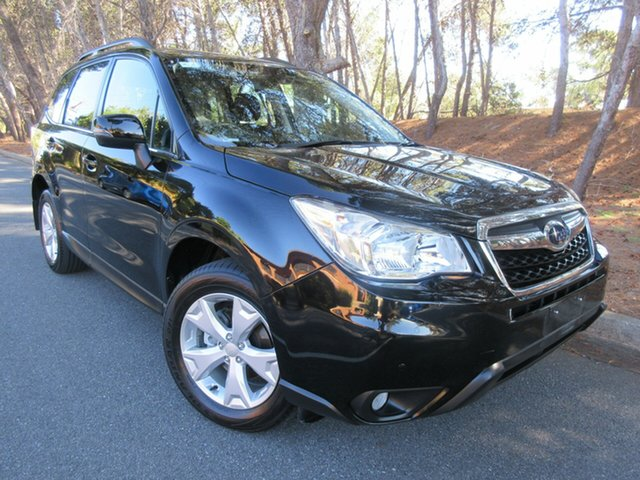 Used Subaru Forester S4 MY14 2.5i-L Lineartronic AWD Reynella, 2014 Subaru Forester S4 MY14 2.5i-L Lineartronic AWD Black 6 Speed Constant Variable Wagon