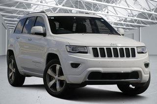 2015 Jeep Grand Cherokee WK MY15 Overland (4x4) White 8 Speed Automatic Wagon.