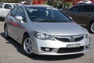 2010 Honda Civic 8th Gen MY10 VTi-L Silver 5 Speed Automatic Sedan.